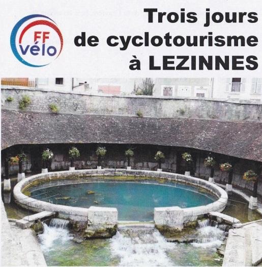 Trois jours de cyclotourisme à Lezinnes (89)