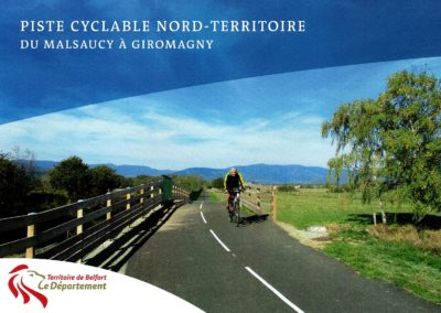 Inauguration piste cyclable Nord-Territoire (90)