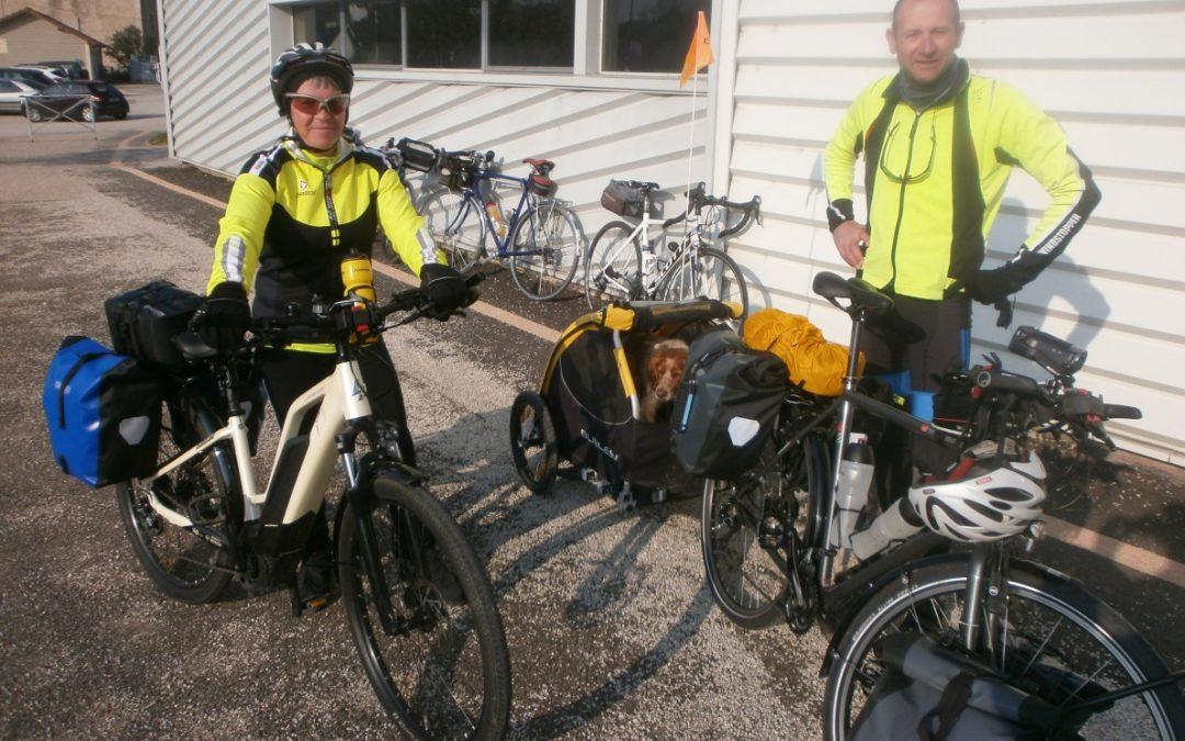 Tour de France au plus près des frontières d'Annie et Michel