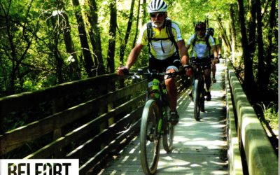 Belfort dans la revue Cyclotourisme : Le VTT au coeur du Territoire