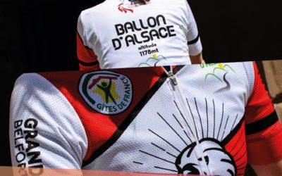 maillot cycliste collector Territoire de Belfort / Ballon d'Alsace