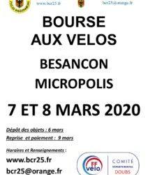 7-8 mars 2020 Bourse aux vélos 25000 Besançon