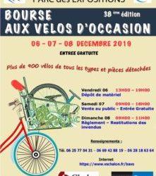 6 au 8 Dec 2019 VSC Chalon s/Saône Bourse aux Vélos
