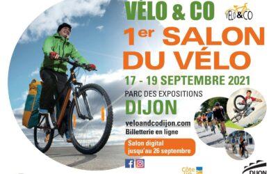 1ère édition de Vélo & co – 17 au 19 septembre au Parc des Expositions de Dijon